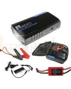 Aerpro AP12000J 500Amp portable jump starter kit