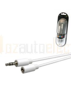 Aerpro APL65 1.5M 3.5 mm Male To 3.5 mm Female Stereo Lead White