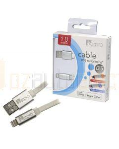 Aerpro APLLW1 LED Lightning/USB Cable