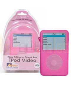Aerpro APV89302 Pink Silicone Case 30gb To Suit iPod Video