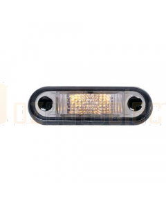 Hella LED Front End Outline Lamp - Amber Illuminated (2056)