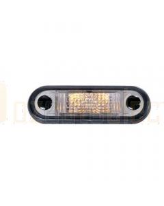 Hella LED Front End Outline Lamp - Amber Illuminated (Pack of 4) (2056BULK)