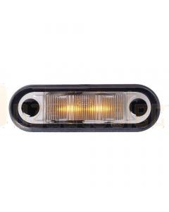 Hella LED Cab Marker - Amber Illuminated (2057)