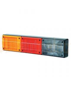 Hella 2424LED-H Designline Triple LED Horizontal Mount Combination Lamp