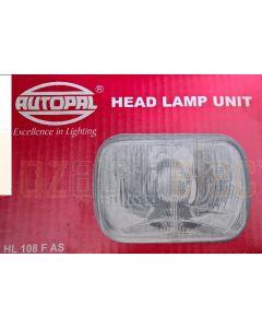 AutoPal HL108 190mm x 130mm Headlamp QH H4 High Low P45T