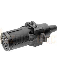 Britax 7 Pin Small Round Plastic Trailer Plug