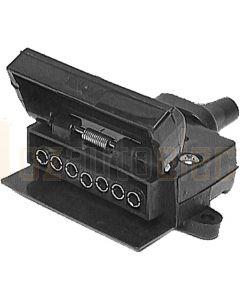 Britax 7 Pin Flat Plastic Trailer Socket