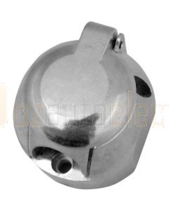 Britax B59B 7 Pin Large Round Metal Trailer Socket