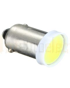 BA9S W6W COB LED Pure White Car Interior Bulb 12V 6000K