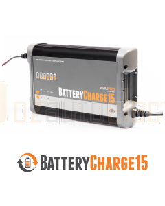 BMPRO BC15 15A 7 Stage Automatic Battery Charger with LiFePO4