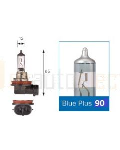 Narva 48538BL2 Halogen H11 Globe 12V 55W Blue Plus 110 PGJ19-2 (Blister Pack of 2)