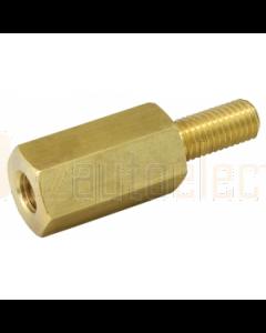 M10 Brass Extension Stud 60mm