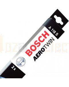 Bosch 3397007118 Set Of Wiper Blades A118S