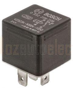 Bosch 0332209206 24V 20/10A Change Over Mini Relay