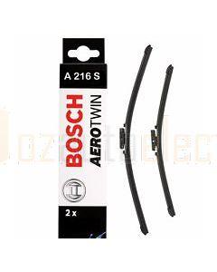 Bosch 3397007216 Set Of Wiper Blades A216S