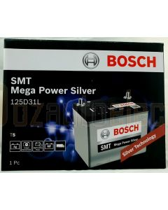 Bosch Silver Calcium T5 Battery 125D31L 760 CCA