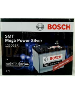 Bosch Silver Calcium T5 Battery 125D31R 760 CCA