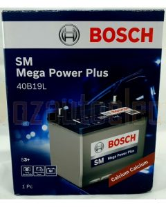 Bosch Battery 40B19L SM Mega Power Battery 300 CCA