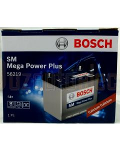 Bosch S4 European Battery 56219 580 CCA