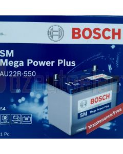 Bosch S4 Battery AU22R-550, 550 CCA