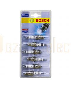 Bosch 0242235961 Super Plus Spark Plug Set of 6 HR7DCY+ to suit Holden VH VK VH, Calais VK, Holden WB