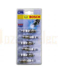 Bosch 0242225865 Super Plus Spark Plugs HR9BC+ S25-6 Set of 6