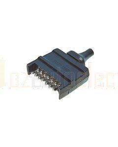 Britax 7 Pin Flat Plastic Plug (B4)