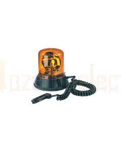 Britax 324-00 Magnetic Base 320 Amber Rotating Beacon