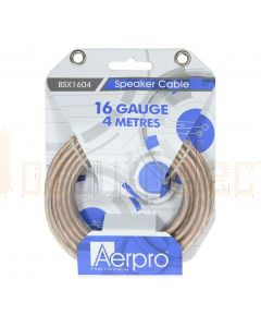 Aerpro BSX1604 Bassix 16ga 4m Speaker Cable