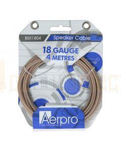Aerpro BSX1804 Bassix 18ga 4m Speaker Cable