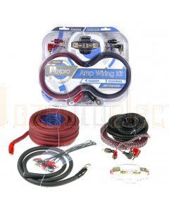 Aerpro BSX204 Bassix 4ga 2 Channel Amp Install Kit