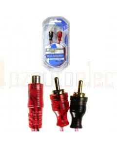 Aerpro BSXYF2M Bassix RCA Adaptor 1f-2m