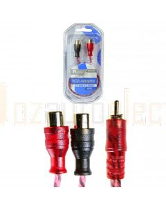 Aerpro BSXYM2F Bassix RCA Adaptor 1m-2f