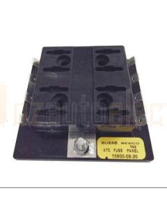 Bussmann 15600 Fuse Panel ATO 8 Pole Single Buss SMD