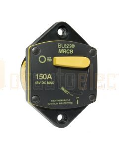 Bussmann 187150P-03-1 150A Marine Rated Panel Mount Circuit Breaker