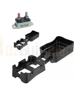 Bussmann Surface Mount Short Stop Circuit Breaker Black Boot