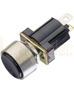 Cole Hersee SPST Off/Mom On Push Button Switch 12/24V 10amp 2 Blade Terminal
