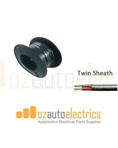 3mm Twin Core Sheathed Cable 30m