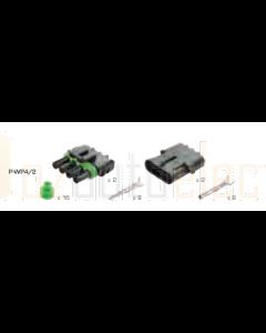 Delphi P-WP4/2 4 Circuit Weather Pack Kit