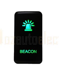 Lightforce Momentary Negative Polarity Switch, Beacon - GR LED (inc Hilux/Prado/Landcruiser)