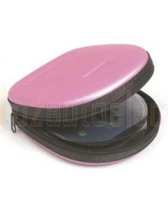 Aerpro CDH24MP 24 DVD/CD Case Metallic Pink