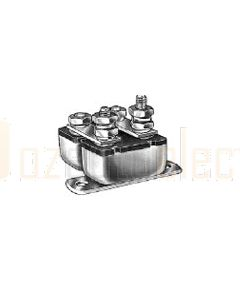 """Cole Hersee Double Circuit Breaker, 12V, 80A, 4 Studs, Type 1, 2"""" Bracket, Stud Insulator is Sealed"""