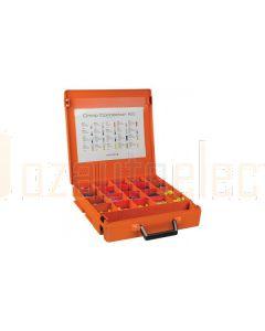 Ionnic Crimp Terminal Kit 1200 Pieces with Rola-Case