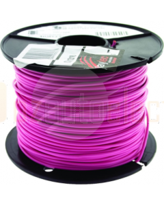 TYCAB 3mm Single Core Cable Pink 100m