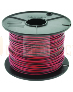 TYCAB 3mm Single Core Cable Red/Black 100m
