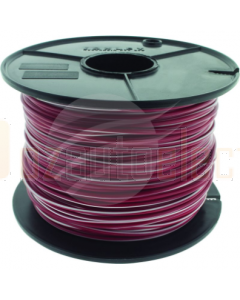 TYCAB 3mm Single Core Cable Red White 100m