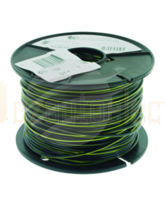 TYCAB 3mm Single Core Cable Black/ Yellow 100m