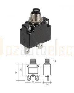 Narva 55305 5Amp Dash Panel Mount Manual Circuit Breaker