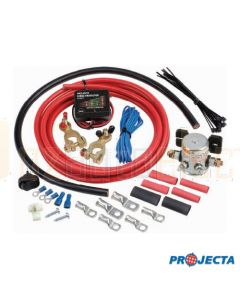 Projecta 12V 85 AMP Solenoid Dual Battery System