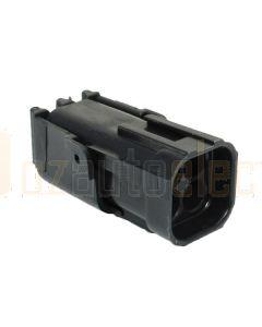 Delphi 12015024 4 Way Black Weather Pack Shroud Sealed Male Connector (Bag of 10)